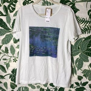 Monet Water Lillies tee
